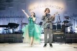 サウンドプロデューサー・矢吹俊郎氏と6年半ぶりステージ共演 Photo by ウチダアキヤ