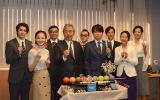 テレビ朝日『特捜9 season2』囲み取材に出席したキャスト一同 (C)ORICON NewS inc.