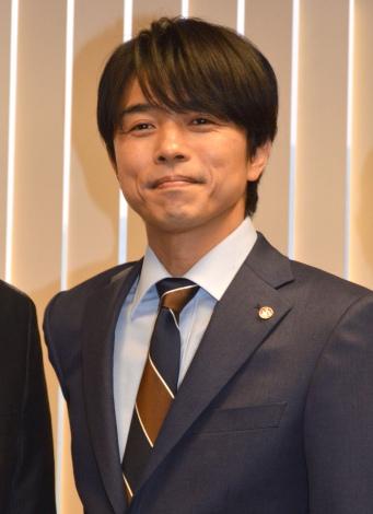 テレビ朝日『特捜9 season2』囲み取材に出席した井ノ原快彦 (C)ORICON NewS inc.