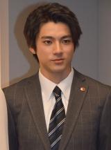 テレビ朝日『特捜9 season2』囲み取材に出席した山田裕貴 (C)ORICON NewS inc.