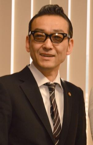 テレビ朝日『特捜9 season2』囲み取材に出席した吹越満 (C)ORICON NewS inc.