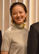 テレビ朝日『特捜9 season2』囲み取材に出席した中越典子 (C)ORICON NewS inc.