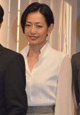 テレビ朝日『特捜9 season2』囲み取材に出席した原沙知絵 (C)ORICON NewS inc.