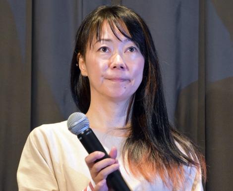 大九明子監督=映画『美人が婚活してみたら』初日舞台あいさつ (C)ORICON NewS inc.