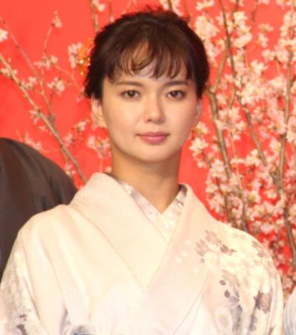 映画『多十郎殉愛記』の完成披露記者会見に出席した多部未華子 (C)ORICON NewS inc.