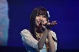 伸びやかな歌声を響かせたSKE48野島樺乃(C)TBS