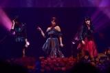 クセの強い(?)3人で「だらしない愛し方」を披露(左から)横山結衣、山内鈴蘭、山崎亜美瑠=『AKB48グループ歌唱力No.1決定戦 ファイナリストLIVE』より(C)TBS