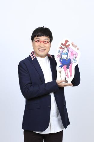 ドナルド・モデラート役の山里亮太