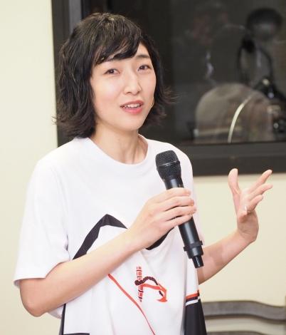 連続テレビ小説恒例のヒロインバトンタッチセレモニーに出席した安藤サクラ (C)ORICON NewS inc.
