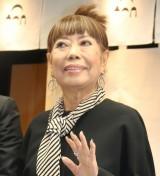岸和田駅前「アヤコ食堂」オープン記者会見に出席したコシノヒロコ (C)ORICON NewS inc.