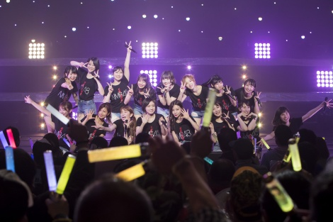 『近畿十番勝負 2019』の初日公演を行ったNMB48 (C)NMB48