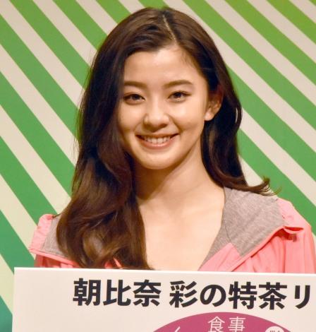 『特茶 2019 戦略発表会』に出席した朝比奈彩 (C)ORICON NewS inc.