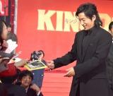 映画『キングダム』ワールドプレミアレッドカーペットに登場した大沢たかお (C)ORICON NewS inc.