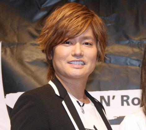 ロックユニット「IRONBUNNY」結成会見に出席した森久保祥太郎 (C)ORICON NewS inc.