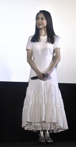 松田聖子=映画『家族のレシピ』舞台あいさつ (C)ORICON NewS inc.