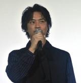 斎藤工=映画『家族のレシピ』舞台あいさつ (C)ORICON NewS inc.