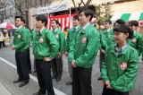 連続テレビ小説『まんぷく』最終回(3月30日放送)の歩行者天国シーンで大規模ロケを敢行(C)NHK