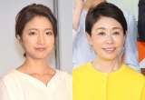 (左から)三田友梨佳アナ、安藤優子 (C)ORICON NewS inc.