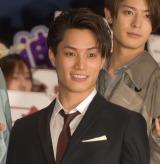 映画『PRINCE OF LEGEND』初日舞台あいさつに出席した鈴木伸之 (C)ORICON NewS inc.