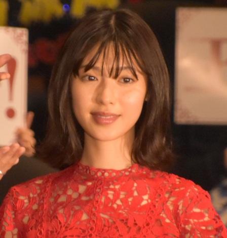 映画『PRINCE OF LEGEND』初日舞台あいさつに出席した白石聖 (C)ORICON NewS inc.