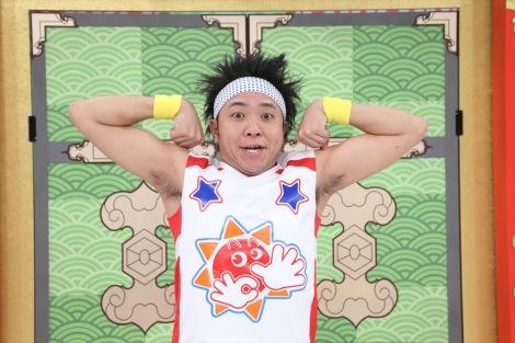 月曜日担当のサンシャイン池崎=テレビ東京系『おはスタ』4月8日放送からリニューアル(C)ShoPro・TV TOKYO