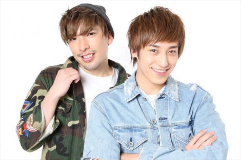 月曜日担当のEXIT(左から)りんたろー。、兼近大樹=テレビ東京系『おはスタ』4月8日放送からリニューアル(C)ShoPro・TV TOKYO