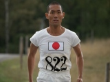 再び走り始める四三(中村勘九郎)=大河ドラマ『いだてん〜東京オリムピック噺(ばなし)〜』第13回より (C)NHK