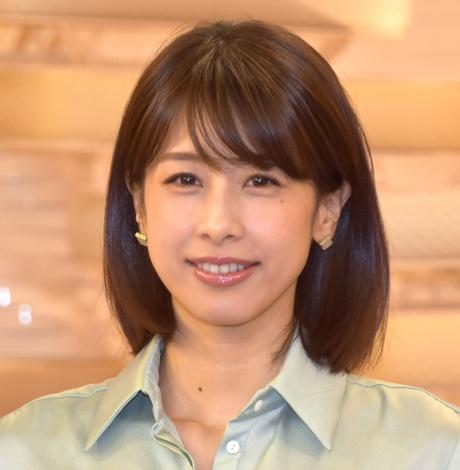 フジテレビ『Live News it!』囲み取材に出席した加藤綾子 (C)ORICON NewS inc.