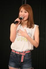 SKE48の2期生10周年公演で卒業を発表した内山命