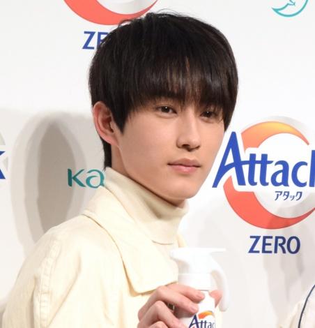 花王『アタックZERO』の新CM発表会に出席した杉野遥亮 (C)ORICON NewS inc.