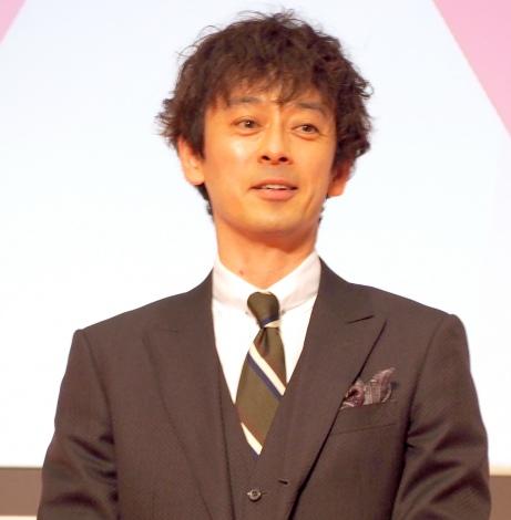 テレビ朝日第62期入社式にゲスト登場した滝藤賢一 (C)ORICON NewS inc.