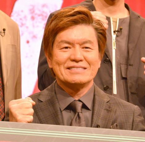 AbemaTV特番『芸人代理戦争』記者会見に出席したヒロミ (C)ORICON NewS inc.