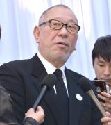 内田裕也さんのRock'nRoll葬に参列した崔洋一 (C)ORICON NewS inc.