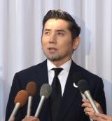 内田裕也さんのRock'nRoll葬で取材に応じた本木雅弘 (C)ORICON NewS inc.