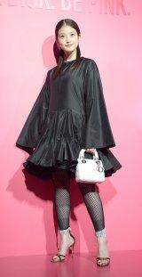 Dior新リップスティック発売記念『ディオール アディクト シティ』オープニングに登場した今田美桜 (C)ORICON NewS inc.