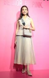Dior新リップスティック発売記念『ディオール アディクト シティ』オープニングに登場した滝沢眞規子(C)ORICON NewS inc.