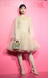 Dior新リップスティック発売記念『ディオール アディクト シティ』オープニングに登場した鈴木えみ(C)ORICON NewS inc.