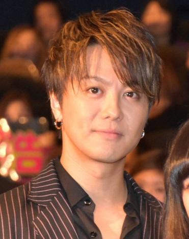 板垣瑞生からイジられプチクレームを入れたTAKAHIRO=映画『僕に、会いたかった』の完成披露上映会 (C)ORICON NewS inc.