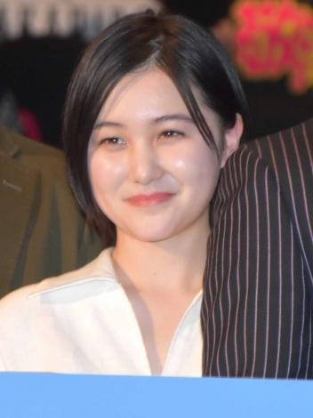 映画『僕に、会いたかった』の完成披露上映会に登壇した山口まゆ (C)ORICON NewS inc.