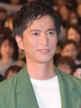映画『僕に、会いたかった』の完成披露上映会に登壇した秋山真太郎 (C)ORICON NewS inc.