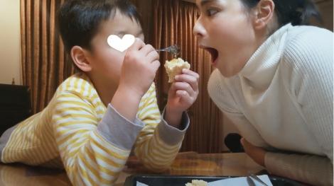 サムネイル 「SOYBIO 豆乳ヨーグルト」新TVCMで家族とCM初共演をする加藤ローサ