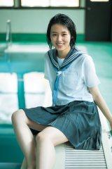 『週刊ヤングジャンプ』18号に登場した竹内愛紗(C)藤本和典/集英社