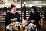 人気パンケーキ店で天海&マツコがプライベートトークを展開(C)テレビ朝日