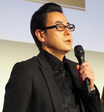 『緊急取調室』の試写会&制作発表記者会見に出席した鈴木浩介 (C)ORICON NewS inc.