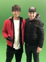 ハリウッド実写映画『名探偵ピカチュウ』にカメオ出演する竹内涼真とロブ・レターマン監督