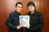 (左から)原哲夫氏と青山剛昌氏