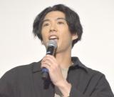 ドラマ『今日から俺は!!』の全話イッキ見上映イベントに出席した賀来賢人 (C)ORICON NewS inc.