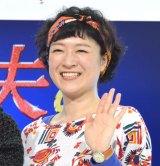 ドラマ『家政夫のミタゾノ』記者発表に出席したしゅはまはるみ (C)ORICON NewS inc.