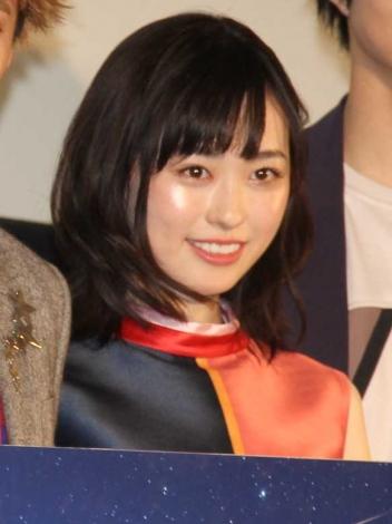 映画『4月の君、スピカ。』初日舞台あいさつに出席した福原遥 (C)ORICON NewS inc.