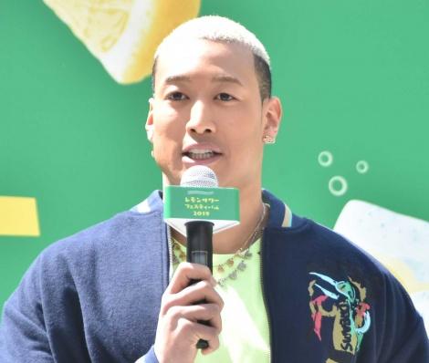 『レモンサワーフェスティバル2019』乾杯式に登壇した関口メンディー (C)ORICON NewS inc.
